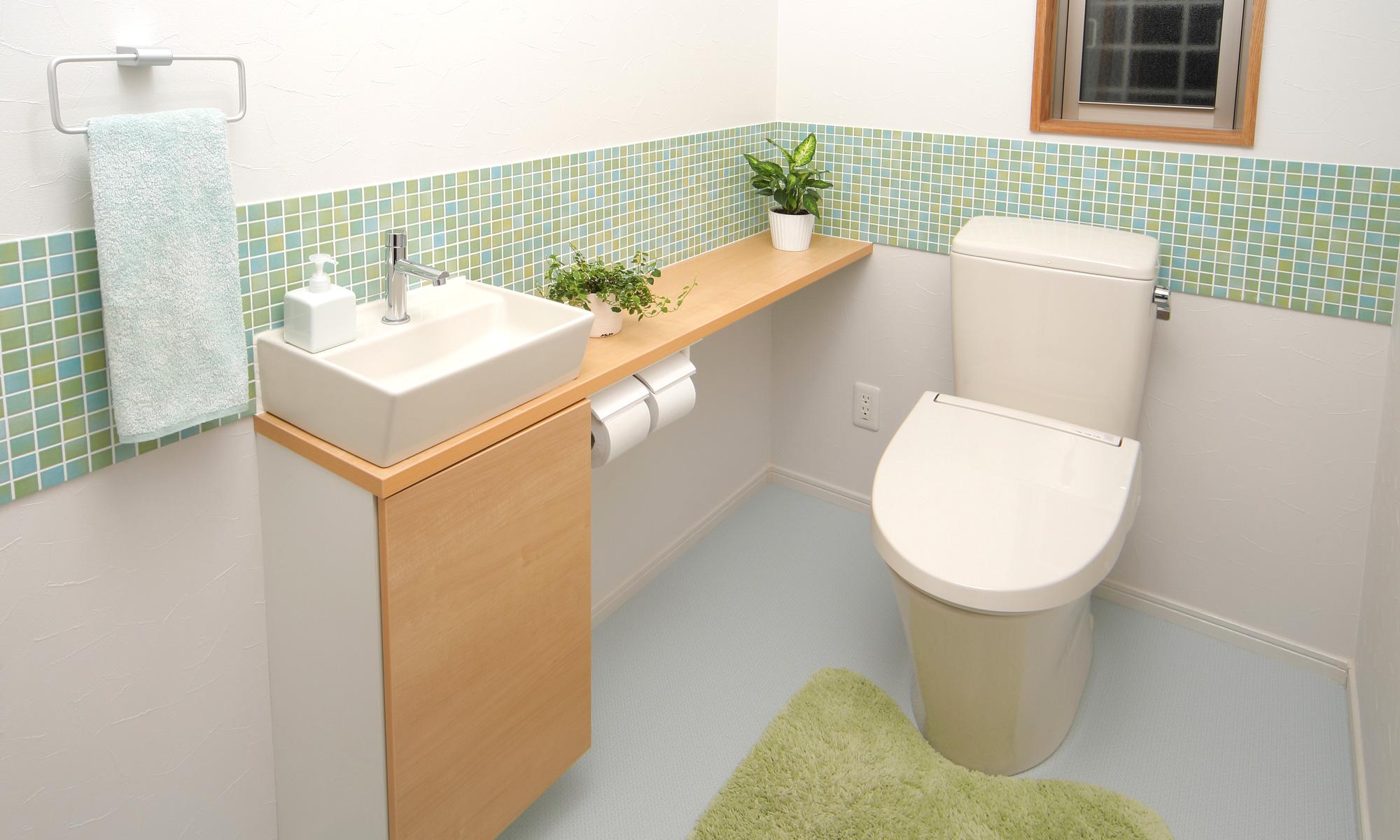 トイレのリフォーム、便器の交換から手洗い器設置等